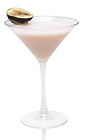 Warm yourself up next to a fire and your favorite lover, and enjoy a few of these to set the romantic mood. The Warm Blizzard is a smooth pink cocktail made from Mozart White chocolate liqueur, cognac and fig liqueur, and served in a chilled cocktail glass.