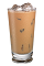 The Cafe con Leche Iced drink is made from Kahlua coffee liqueur, espresso, half-and-half and condensed milk.