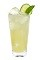 The Cucumber Basil Temptress is an exciting tall cocktail guaranteed to open your appetite. Made from Effen cucumber vodka, lime juice, simple syrup, basil and club soda, and served over ice in a highball glass.