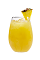 The Tropical Screwdriver punch drink is made from Smirnoff Sorbet Light Mango Passion Fruit vodka, pineapple juice and orange juice, and served from a pitcher or punch bowl.