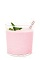 The Crème de Candy Cane is a pink colored Christmas drink recipe made from Burnett's candy cane vodka, white crème de cacao, grenadine, half-and-half and lemon-lime soda, and served over ice in a rocks glass.